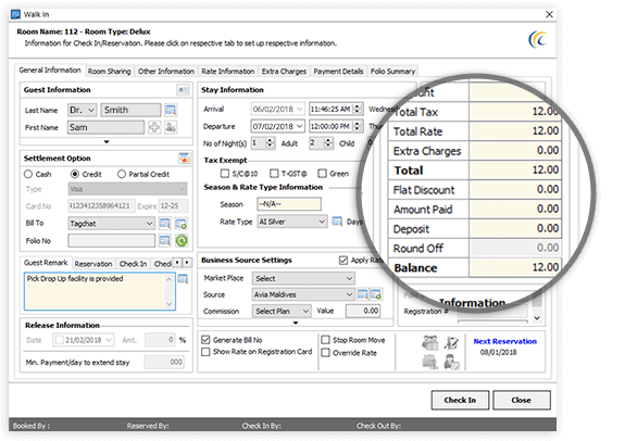 Hotel PMS System - eZee PMS Features