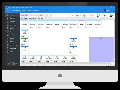 Desktop Based Complete Hotel Management Software
