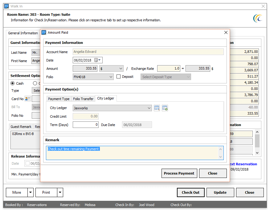 Screenshots Preview Of Ezee Frontdesk Hotel Software